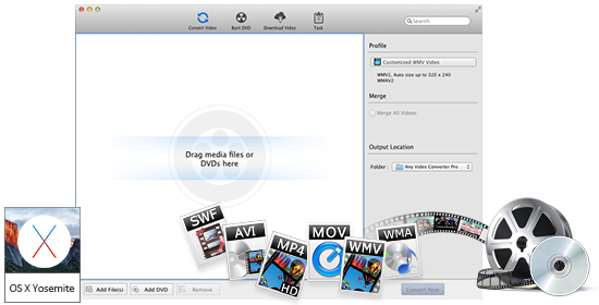 Any Video Converter Mac 究極版